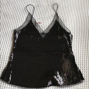 Free people sequin camisole